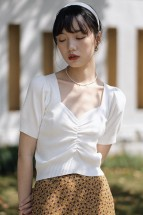 (Pre-order) Sandi Knitted Sleeved Top (Multi-Color)