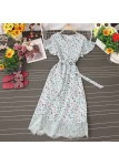 (Pre-order) Audria Floral Laced Dress (Multi-colours)